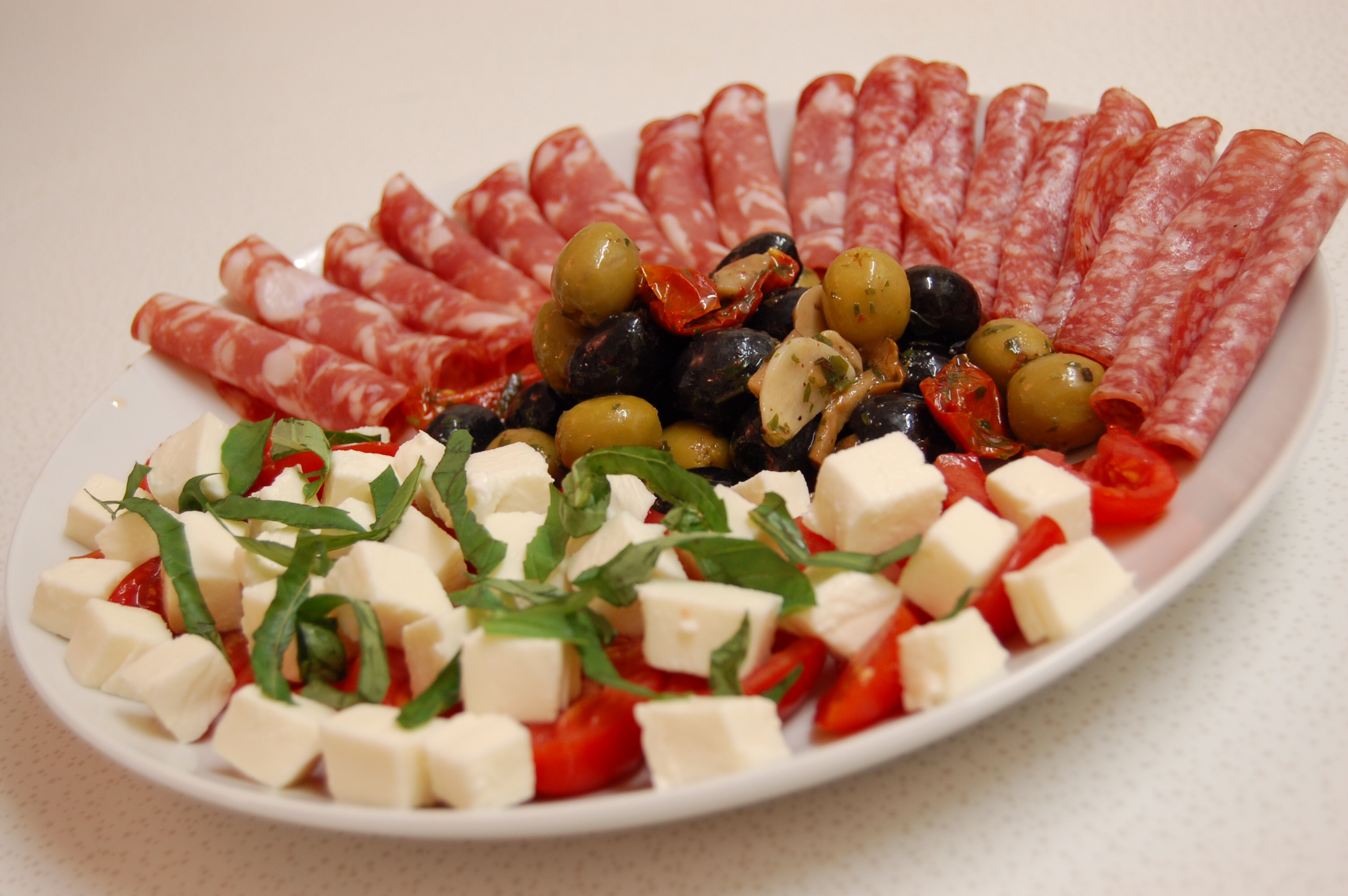 Never to early to start those summer party plans for Italian snacks
