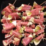 Salami Pepperoncini Provolone Appetizer
